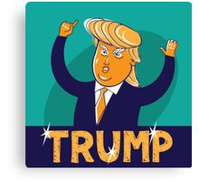 cartoon of USA Republican presidential candidate Donald Trump Canvas Print