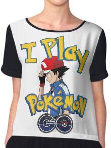 I play pokemon go! Chiffon Top