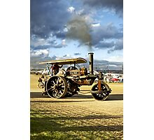 "Fowler 8-ton Steam Road Roller No.18874 ""Lord Jellicoe"" Photographic Print"