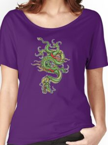 Chinese Tattoo Dragon Women's Relaxed Fit T-Shirt