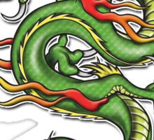 Chinese Tattoo Dragon Sticker