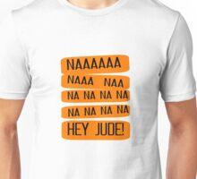 Hey Jude The Beatles Song Lyrics 60s Rock Music John Lennon Paul McCartney Unisex T-Shirt