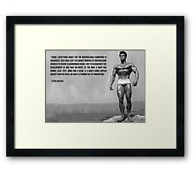 Bodybuilding Champions Are Oversized Framed Print
