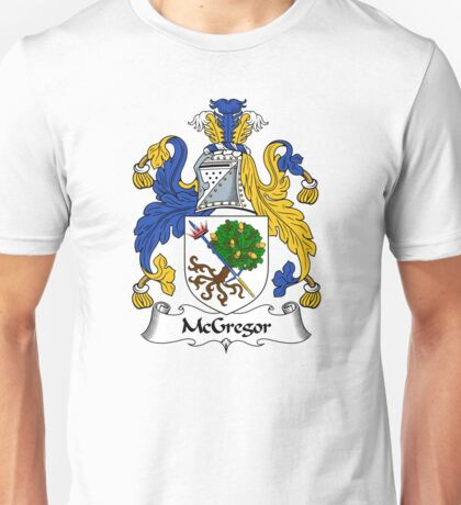 McGregor Coat of Arms / McGregor Family Crest Unisex T-Shirt