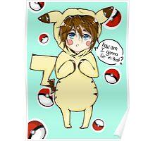 pika-cute Poster