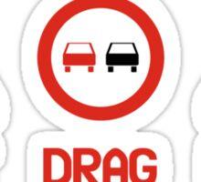 Drift Drag Rally (3) Sticker