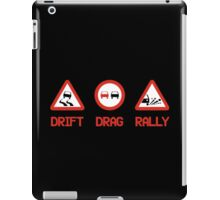 Drift Drag Rally (3) iPad Case/Skin