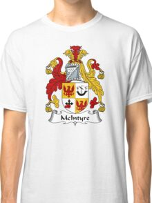 McIntyre Coat of Arms / McIntyre Family Crest Classic T-Shirt