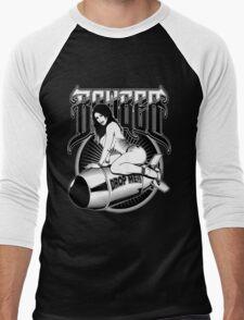 Bomber Pin-Up Girl Men's Baseball ¾ T-Shirt