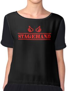 Stagehand red Chiffon Top