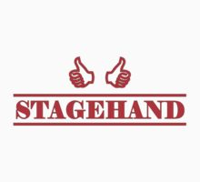 Stagehand red Baby Tee