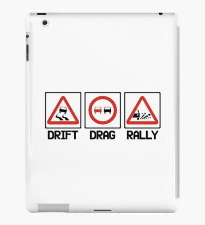 Drift Drag Rally (2) iPad Case/Skin