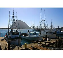 MORO BAY AFTERNOON Photographic Print