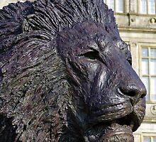 Bruce Little Lion Sculpture, Longleat House, Wiltshire, UK by Andrew Harker