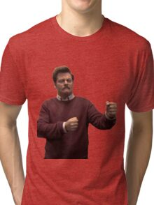 Ron Swanson Tri-blend T-Shirt