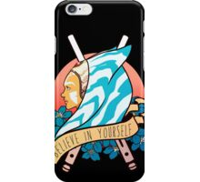 Believe in yourself iPhone Case/Skin