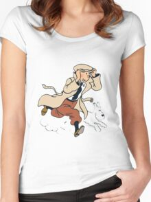 tinton Women's Fitted Scoop T-Shirt
