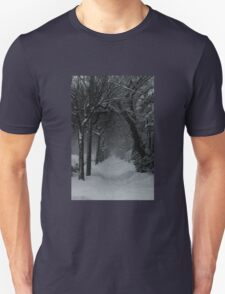 Winter Scene in Montreal Unisex T-Shirt