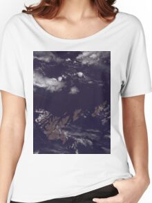 Faroe Islands Denmark Satellite Image Women's Relaxed Fit T-Shirt