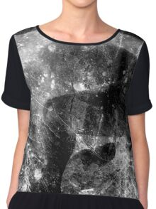 CONSTELLATIONS IN GARBAGE CANS Chiffon Top