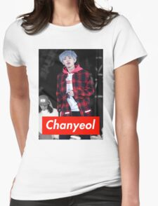 Chanyeol Womens Fitted T-Shirt