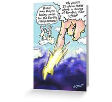 Climate Change! Greeting Card