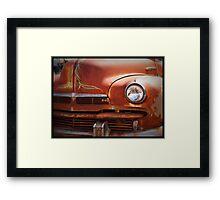 Rusty Rod Framed Print