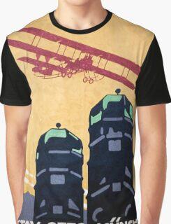 German Airplane Factory Advertisement Graphic T-Shirt
