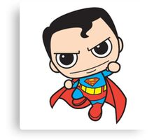 Chibi Superman Canvas Print
