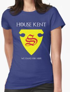 House Kent - Game of Thrones x Superman Mashup Womens Fitted T-Shirt