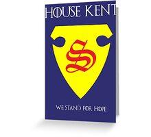 House Kent - Game of Thrones x Superman Mashup Greeting Card