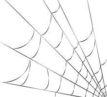 Cobweb Pillow by Sophersgreen