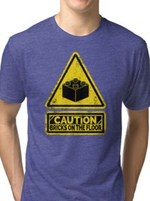 Watch Your Steps Tri-blend T-Shirt
