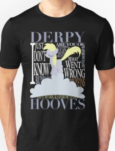 The Many Words of Derpy T-Shirt