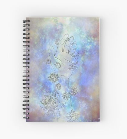 Reaching Spiral Notebook