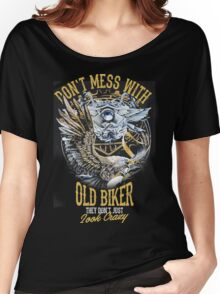 Old biker Women's Relaxed Fit T-Shirt