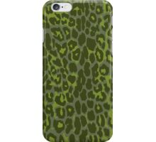 Olive Cheetah Print iPhone Case/Skin