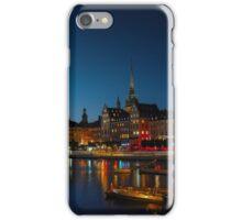Old Town Stockholm iPhone Case/Skin
