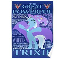 The Great and Powerful Trixie Poster