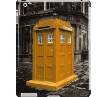 Golden Tardis  iPad Case/Skin