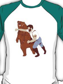 Exercise for Bearded Men T-Shirt