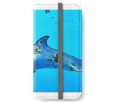 Dolphin in the sea iPhone Wallet/Case/Skin