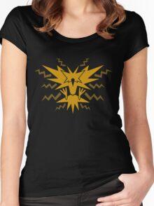 House Instinct logo Women's Fitted Scoop T-Shirt