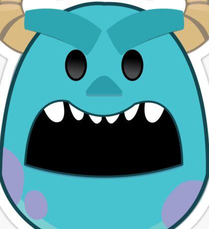 Sully Emoji Sticker Sticker