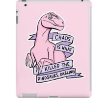 Chaos Killed the Dinosaurs iPad Case/Skin