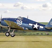 Grumman F6F-5K Hellcat 80141/19 G-BTCC by Colin Smedley