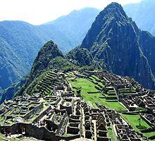 Machu Picchu, Peru by Ludwig Wagner