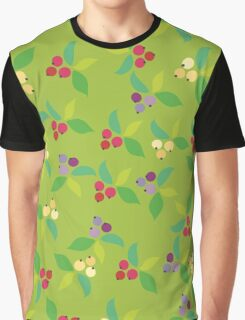 Background berry green Graphic T-Shirt