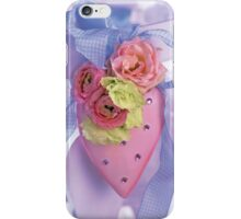 Pink Heart (unframed) iPhone Case/Skin