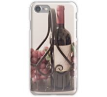Basket of Wine and Fruit iPhone Case/Skin